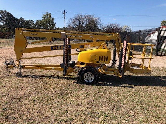Furneys 2008 Snorkel MHP 13/35 Trailer Mounted Boom Lift