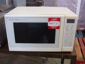 Sharp Carousel Convection Microwave Auction 0010 3002692