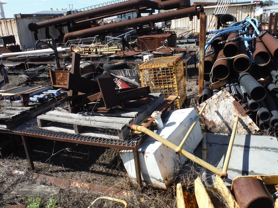 Very Large Qty Scrap Steel and Other Items