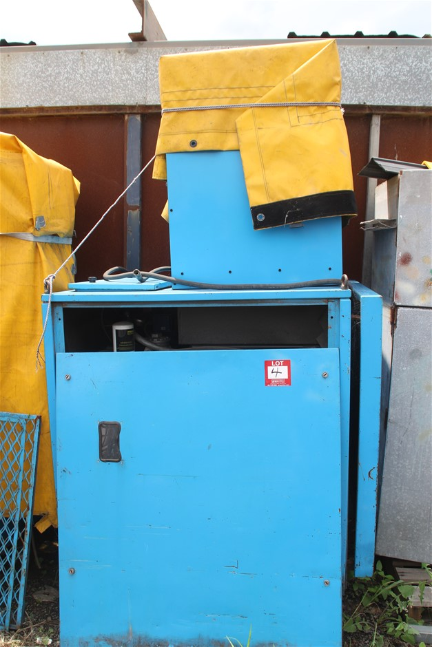 Hydraulic Power Pack (Electric) in Cabinet