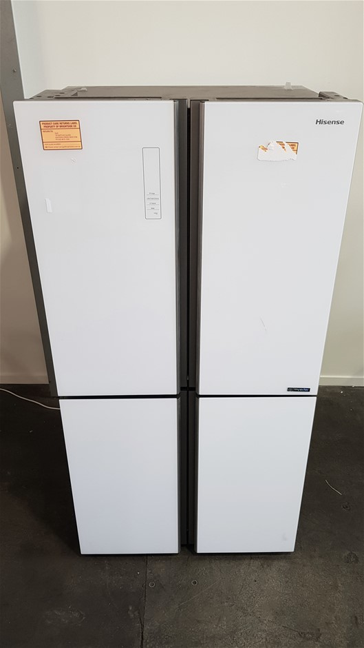 Hisense 695L French Door Fridge (HR6CDFF695GW) (White)