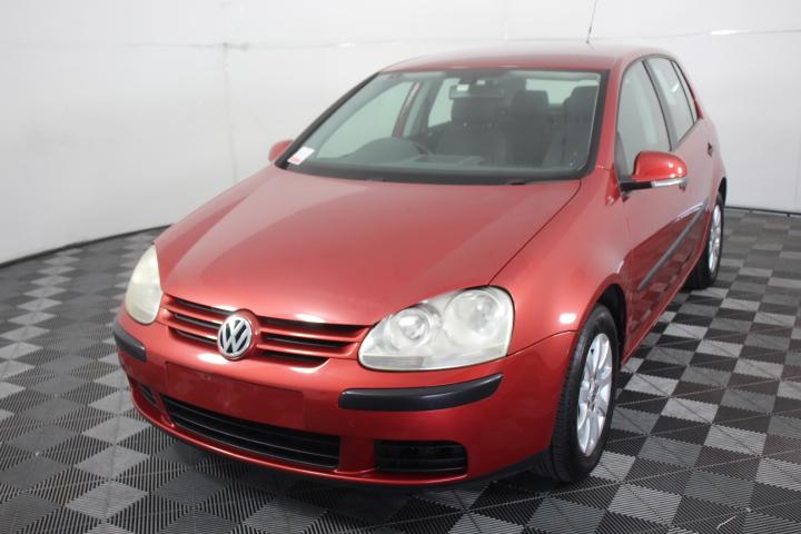 2006 Volkswagen Golf 2.0 TDI Comfortline T/Diesel Auto Hatchback