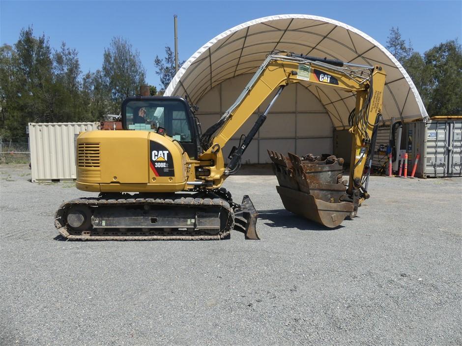 Caterpillar 308E2 CR Hydraulic Tracks Excavator