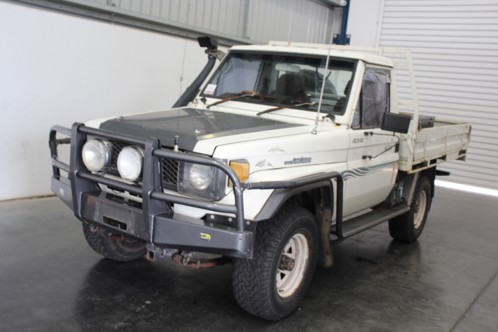 1986 Toyota Landcruiser Manual Cab Chassis