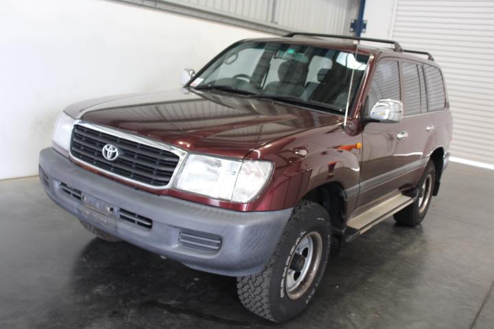 2000 Toyota Landcruiser RV (4x4) FZJ105R Automatic 7 Seat Wagon