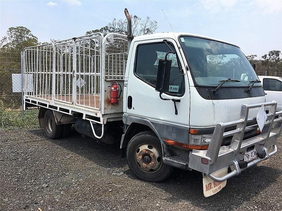 2000 Mitsubishi Canter FE 647 EV 4 x 2 Tray Body Truck
