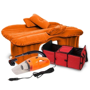 SOGA Portable Travel Camping Car Set Inf