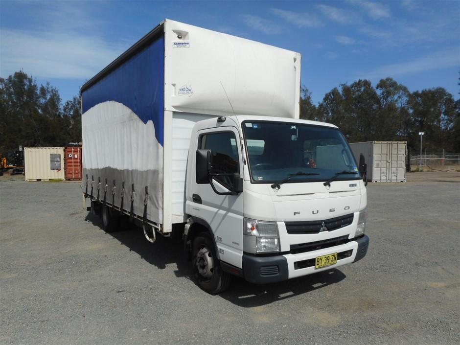 2014 Mitsubishi Fuso Canter 4 x 2 Pantech Truck