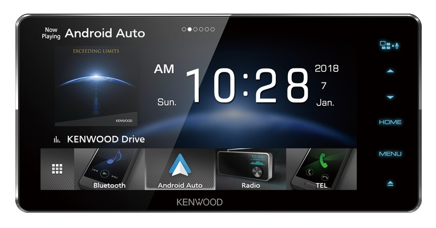Kenwood DDX918WS 6.8inch HD Capacitive Touch Screen AV Receiver