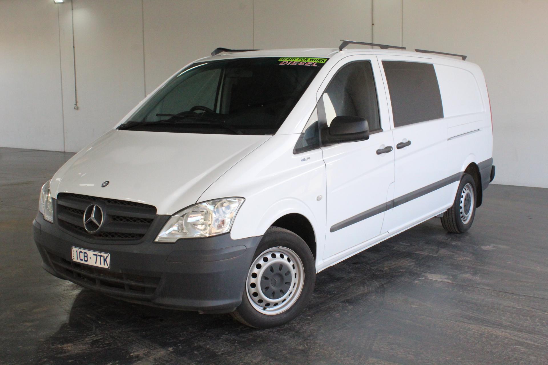 2014 Mercedes Benz Vito 113CDI LWB Turbo Diesel Manual Van