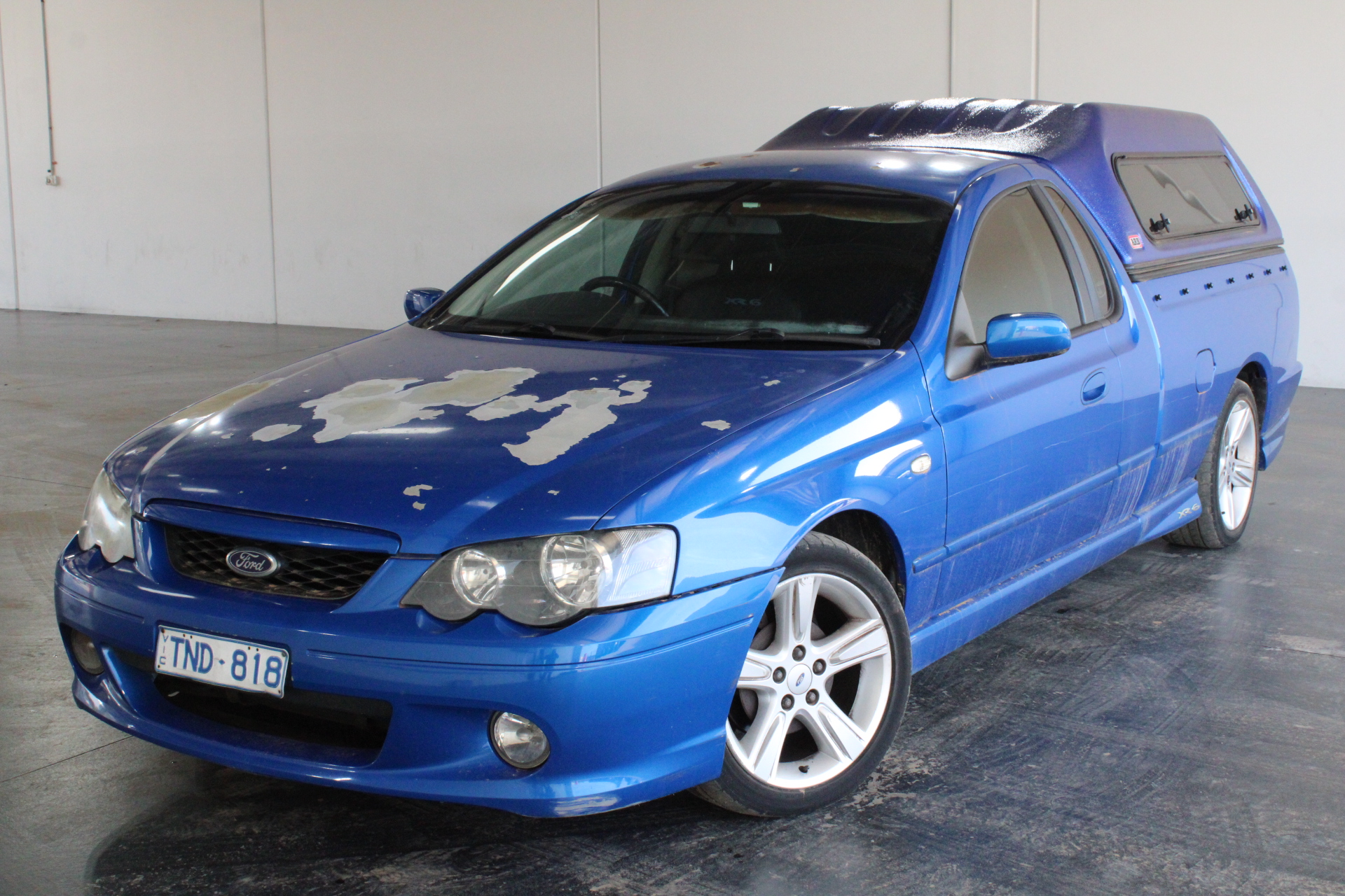 2005 Ford Falcon XR6 BA MKII Automatic Ute