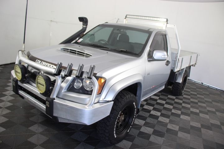 2010 Holden Colorado LX (4x4) RC Turbo Diesel Manual Cab Chassis
