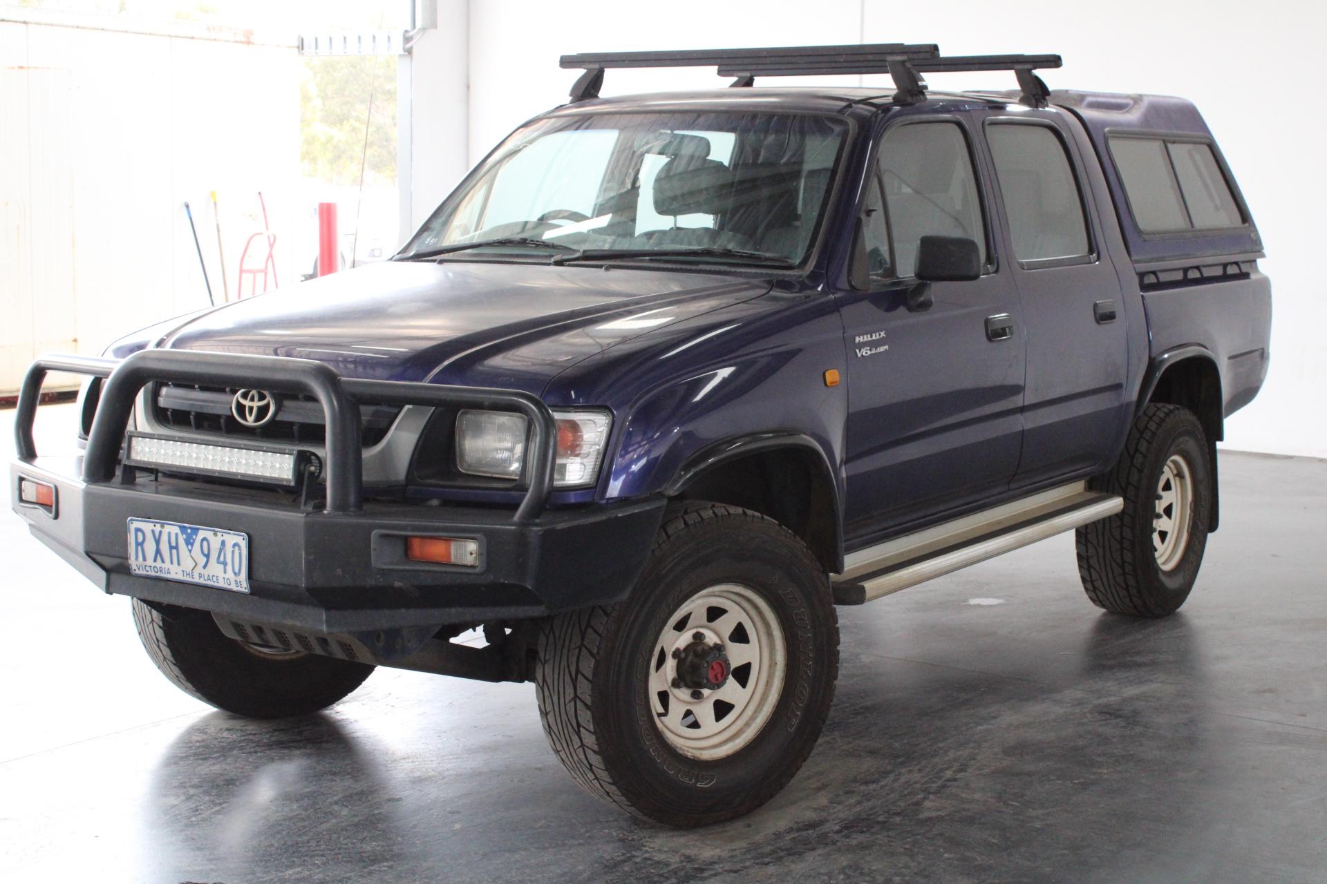 2002 Toyota Hilux (4x4) Manual Dual Cab