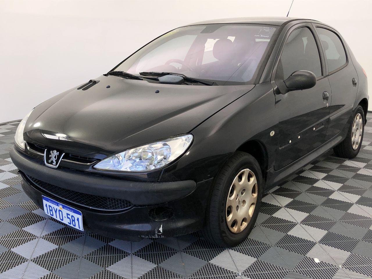 2005 Peugeot 206 XT Automatic Hatchback