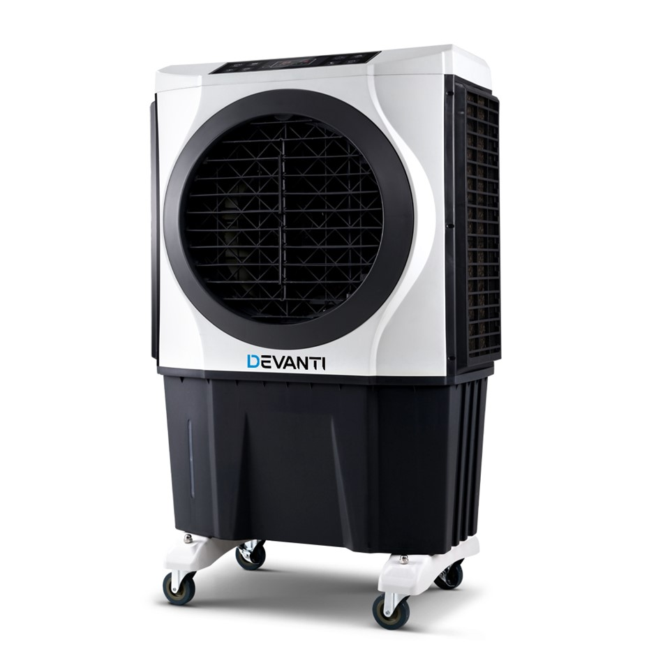 Devanti Evaporative Air Cooler Conditioner Commercial Fan Purifier