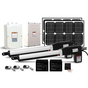 LockMaster 40w Solar Power Swing Gate Op
