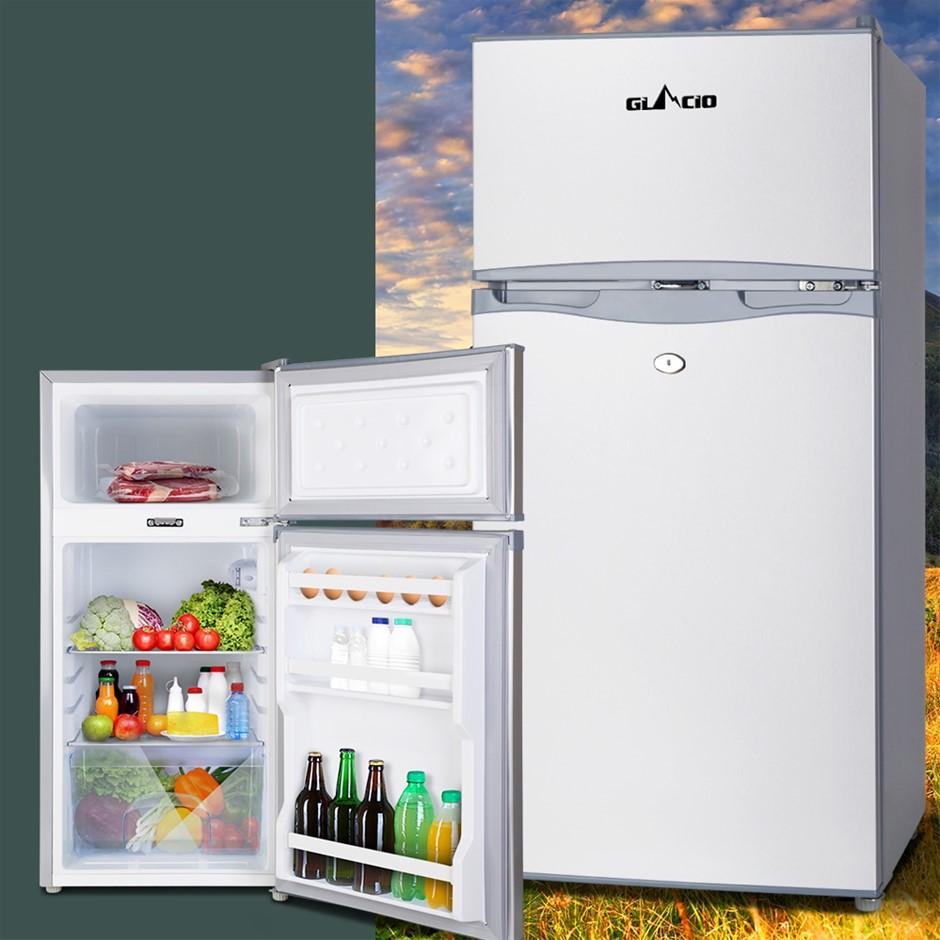 Glacio 95L Portable Bar Fridge Freezer Fridges Cooler 12V/24V/240V