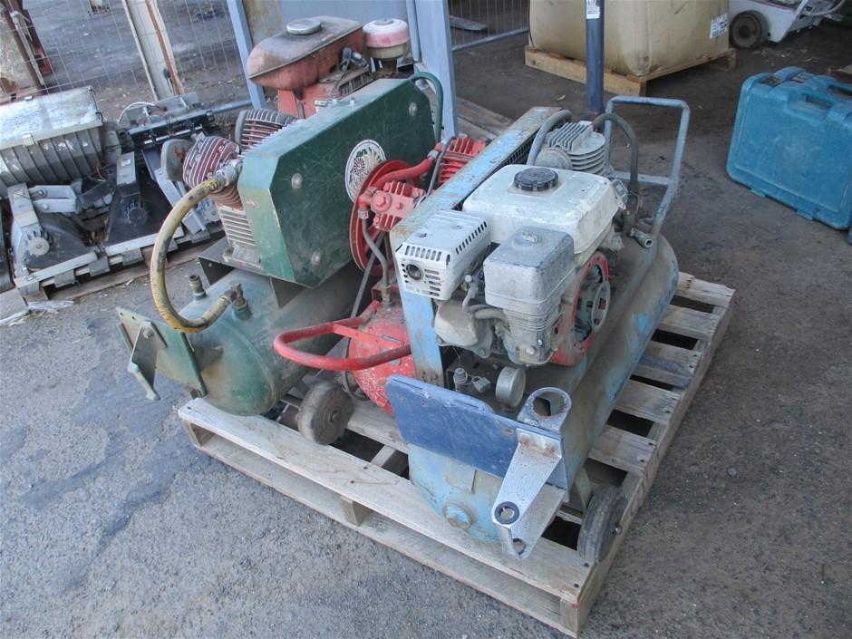 3 x Assorted Air Compressors