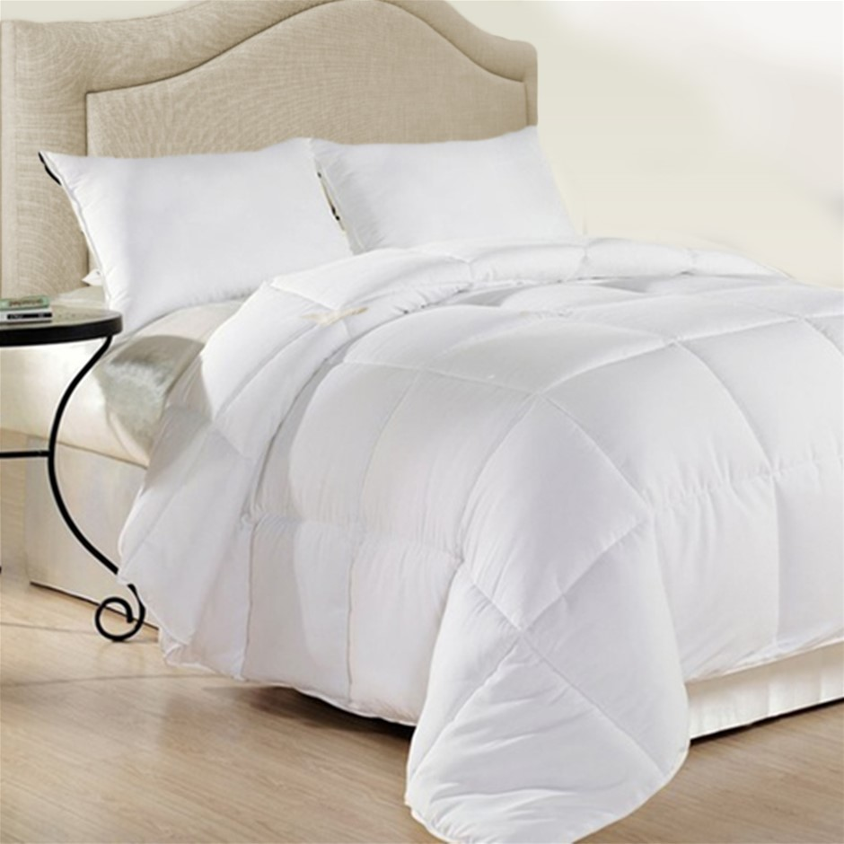 Royal Comfort Duck Feather And Down Quilt Super King 500GSM