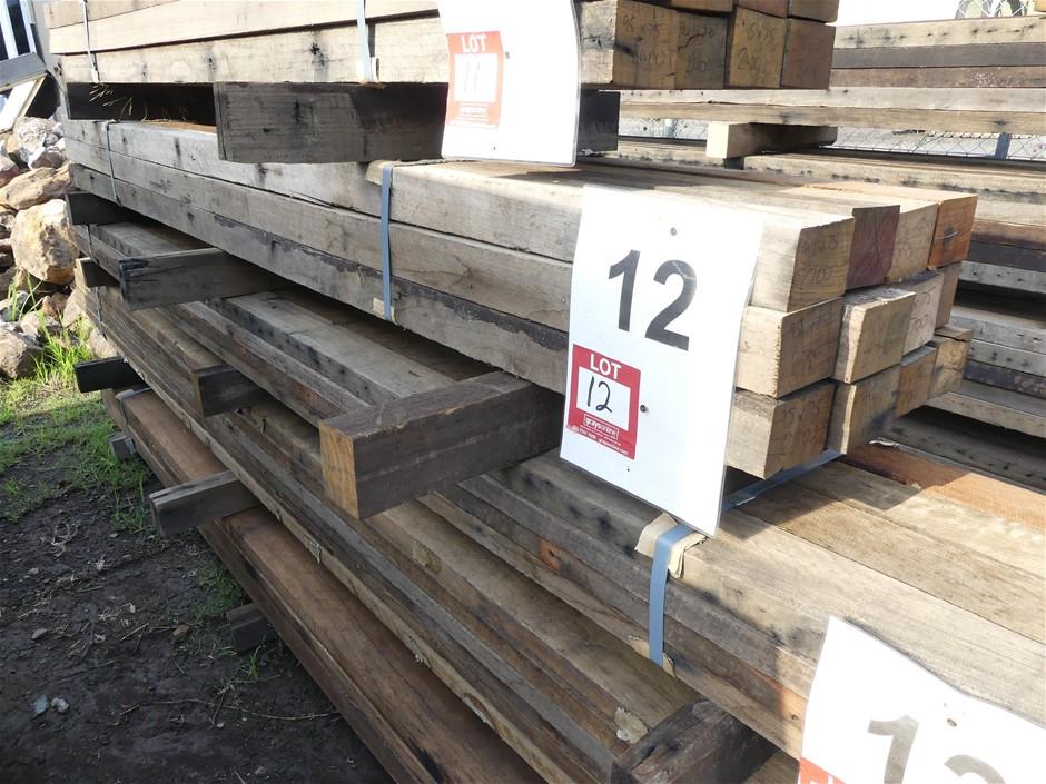 Qty 12 x Australian Hardwood
