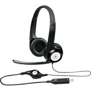 Logitech USB Headset H390 with Rotating,