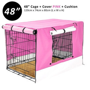 """48"""" Cage + Cover PK + Pad"""