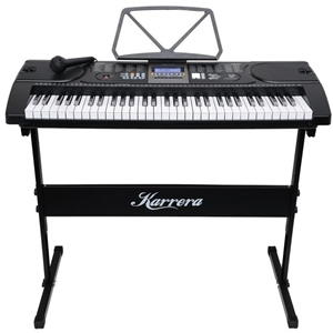 61 Keys Electronic Keyboard with Stand -