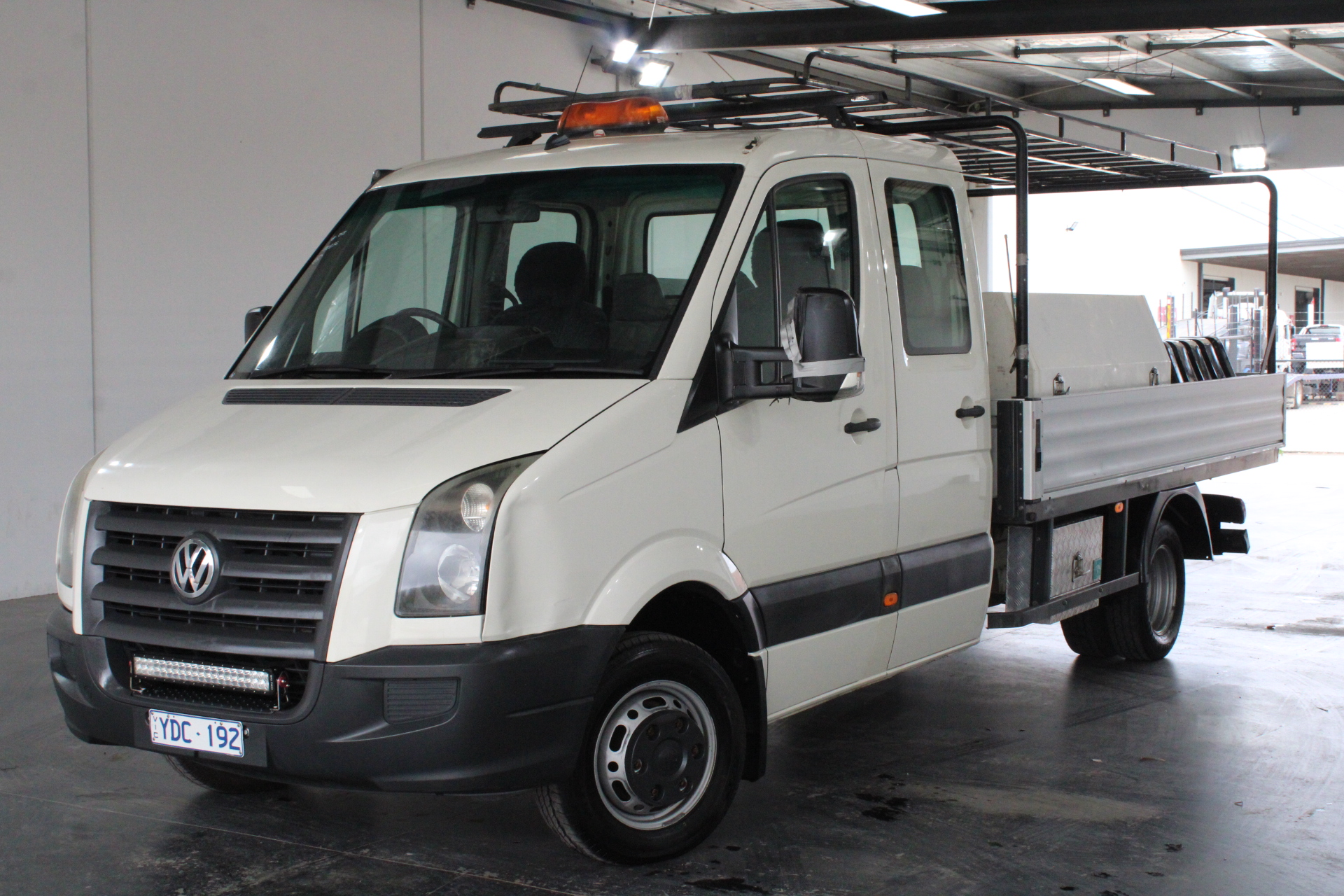 2009 Volkswagen Crafter 50 LWB Turbo Diesel Manual Crew Cab Chassis