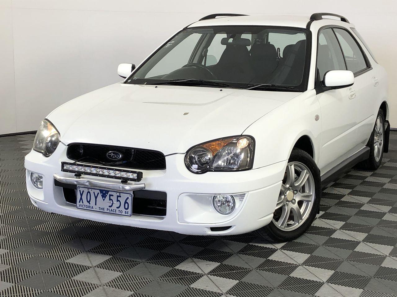 2004 Subaru Impreza RS (AWD) G2 Manual Hatchback