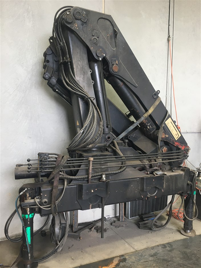 Crane attachment, Truck Mount Type