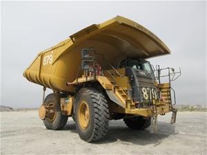 2011 Caterpillar 777F Rigid Dump Truck (