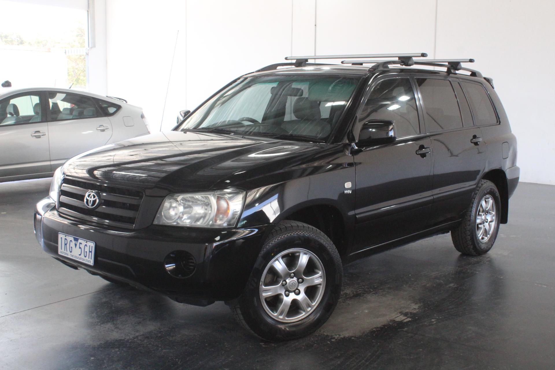 2006 Toyota Kluger CVX (4x4) Auto 7 Seats Wagon, RWC Issued 28/01/2020