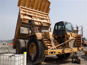 2007 Caterpillar 777F Rigid Dump Truck (