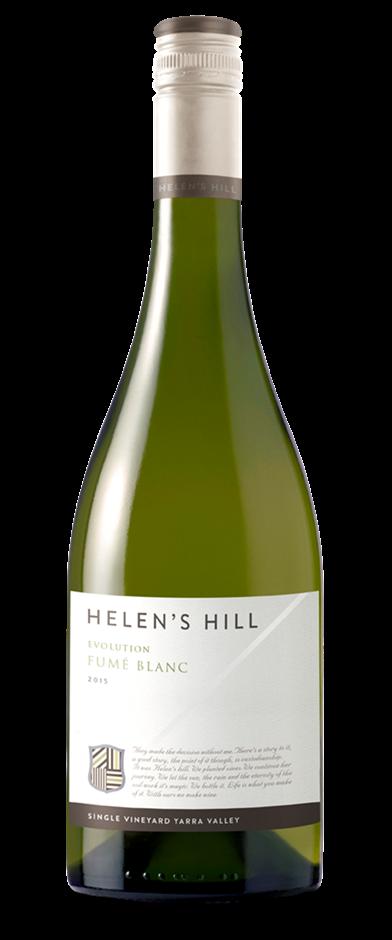 Helens Hill Evolution Fumé Blanc 2015 (12x 750mL). VIC.