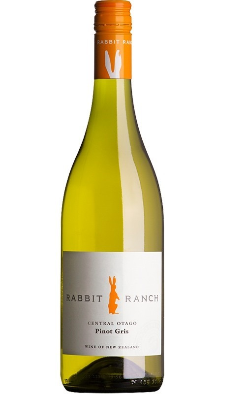 Rabbit Ranch Pinot Gris 2019 (12x 750mL). Central Otago, NZ.