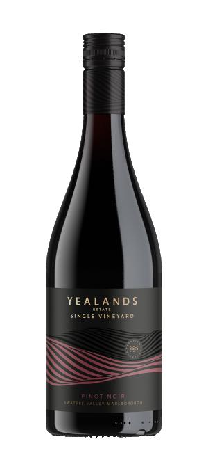 Yealands Estate Single Vineyard Pinot Noir 2018 (6x 750mL). NZ.