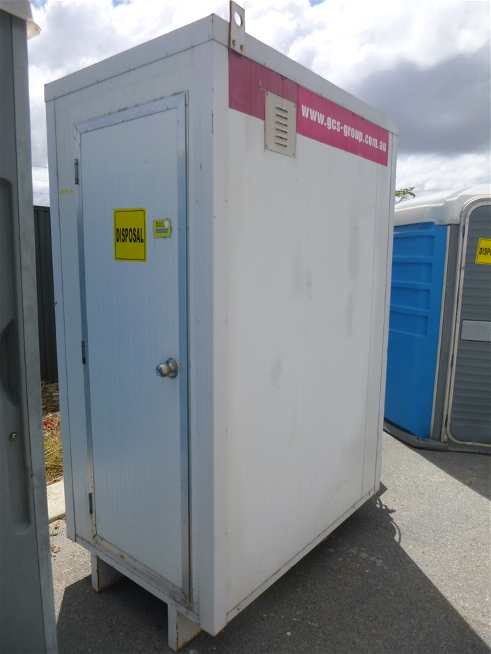 Portable Shower Block with Hot Water System (Location: Wangara)