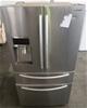 Samsung SRF801GDLS 801L Layered Steel French Door Refrigerator