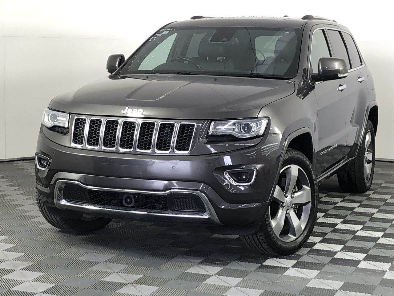 2013 Jeep Grand Cherokee Overland (4x4) WK Automatic - 8 Speed Wagon