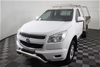 2015 Holden Colorado 4X2 LX RG Turbo Diesel Automatic Cab Chassis