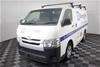2014 Toyota Hiace LWB TRH201R Manual Van