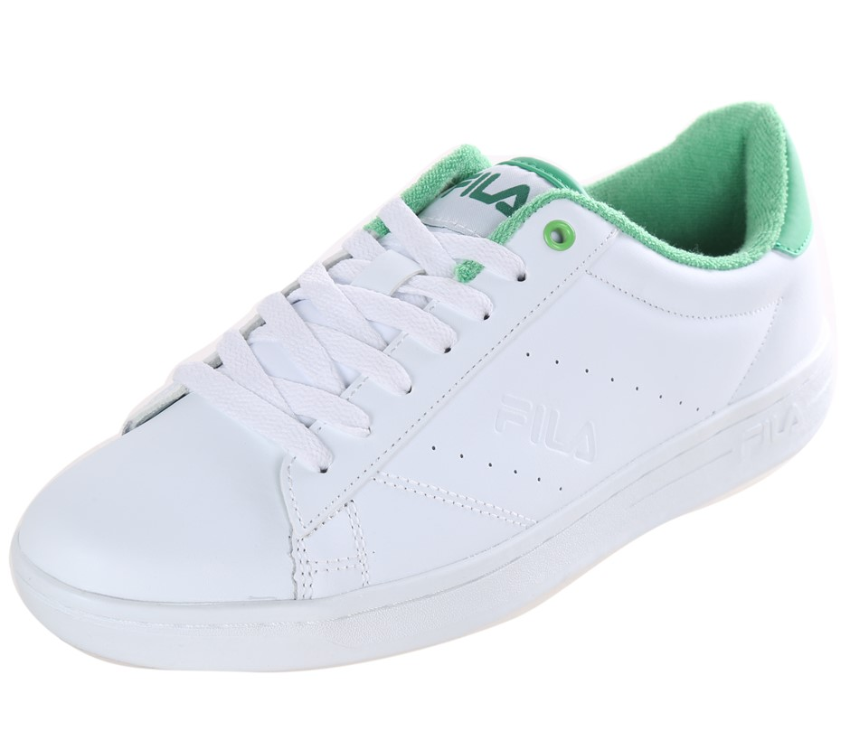 FILA Street Ladies Tennis Sport Shoes, Size UK 6, Leather - PU Upper; White