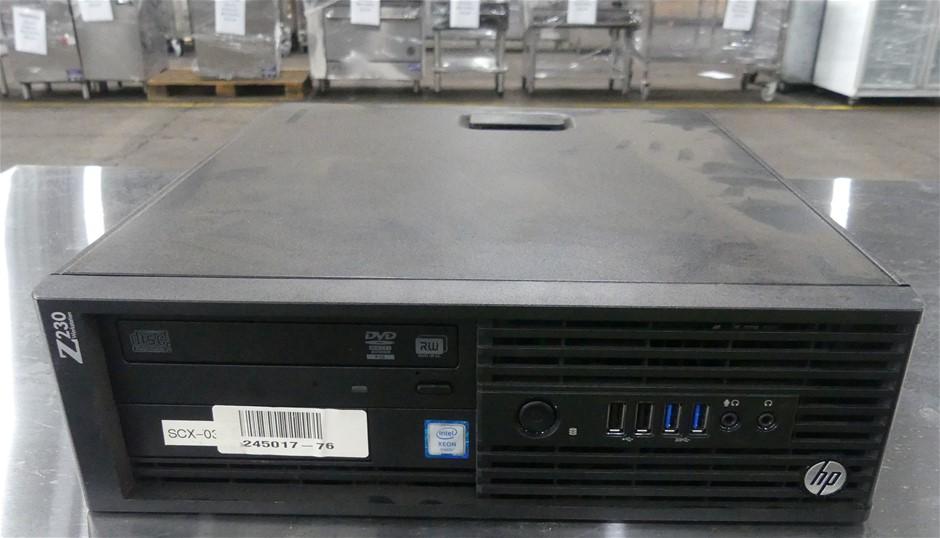 HP Z230 Small Form Factor (SFF) Desktop PC