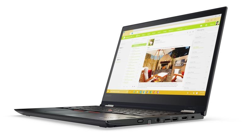 Lenovo ThinkPad Yoga 370 13.3-inch Notebook, Black
