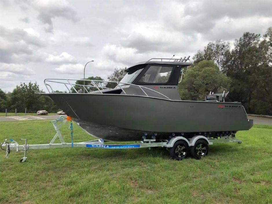 2020 WILDSEA 755 Limited Hard Top Cuddy Cabin Aluminium Custom Plate Boat