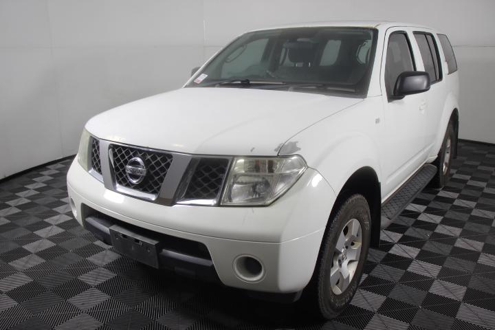 2007 Nissan Pathfinder ST (4x4) R51 7 Seat Wagon