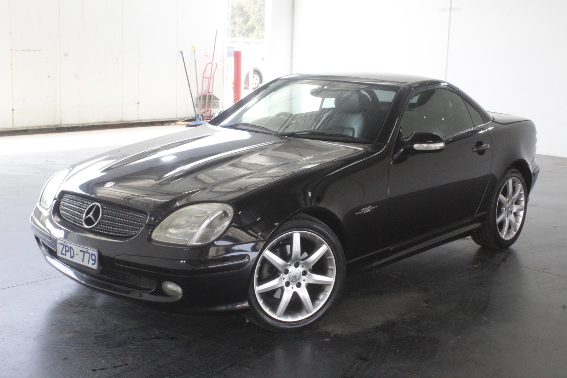 2002 Mercedes Benz SLK230 Kompressor SPECIAL EDITION Convertible