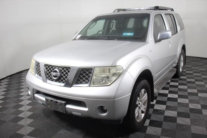 2005 Nissan Pathfinder Ti (4x4) R51 Automatic 7 Seat Wagon