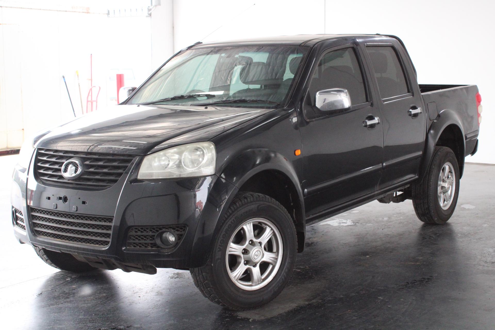 2011 Great Wall V200 4X2 Turbo Diesel Manual Dual Cab