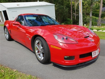 2006 Chevrolet Corvette Z06 RWD Manual - 6 Speed Coupe